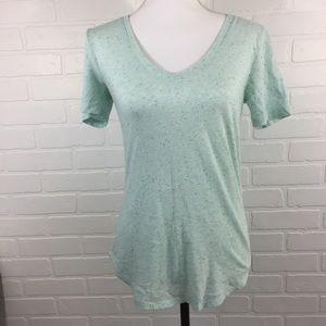 Victoria's Secret V-Neck T-Shirt Small